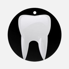 Tooth Ornament (Round)