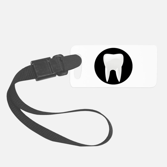 Tooth Luggage Tag