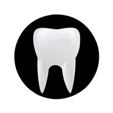 """Tooth 3.5"""" Button"""