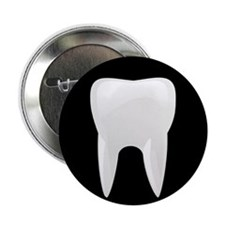 "Tooth 2.25"" Button"