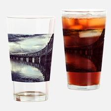 Bridge Reflection Drinking Glass