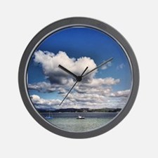 Boating Bliss Wall Clock
