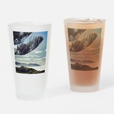 Beach Spray Drinking Glass