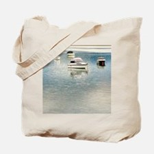 Boats on the Bay Tote Bag