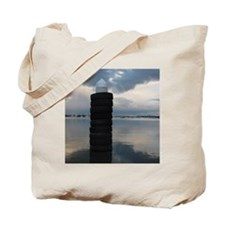 At the Harbour Tote Bag