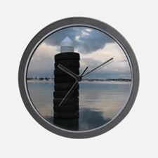At the Harbour Wall Clock