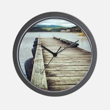 On the Jetty Wall Clock