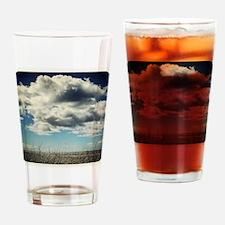 Cloud Watching Drinking Glass