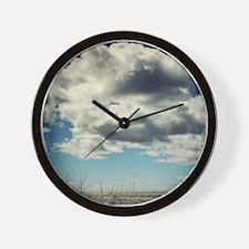 Cloud Watching Wall Clock