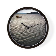 Windy Lake Wall Clock