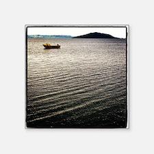 "Windy Lake Square Sticker 3"" x 3"""