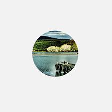 Lake Diver Mini Button
