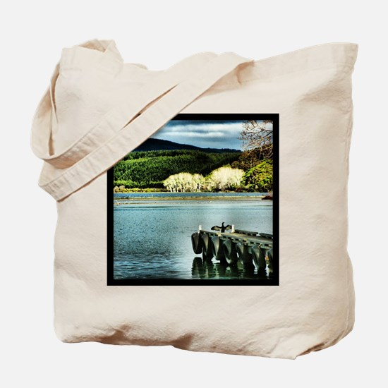 Lake Diver Tote Bag