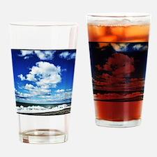 Summer Surf Drinking Glass
