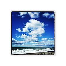 """Summer Surf Square Sticker 3"""" x 3"""""""