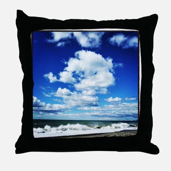 Summer Surf Throw Pillow