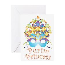 Purim Princess Greeting Cards