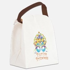 Purim Princess Canvas Lunch Bag