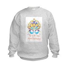 Purim Princess Sweatshirt