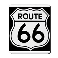 Route sign Mousepad