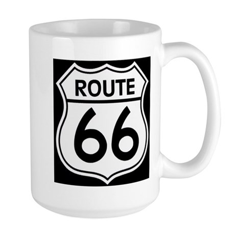 Route sign Mugs