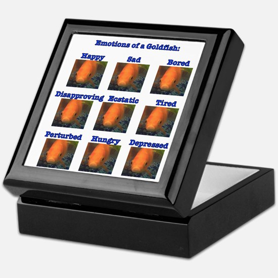 Goldfish Emotions Keepsake Box