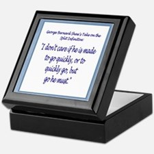 Split Infinitives Keepsake Box