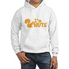 Im NUTS! with cute little squirrel Jumper Hoodie
