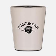 Distressed Turkukkah Shot Glass