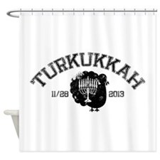 Distressed Turkukkah Shower Curtain