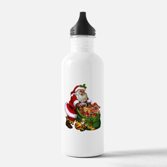 Santa Claus! Water Bottle