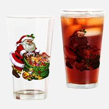 Santa Claus! Drinking Glass