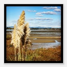 "Beautiful New Zealand -  Square Car Magnet 3"" x 3"""
