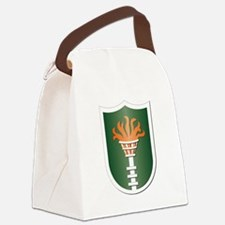 Korean Communications Zone Canvas Lunch Bag