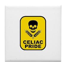 """""""CELIAC Skull"""" Tile Coaster"""