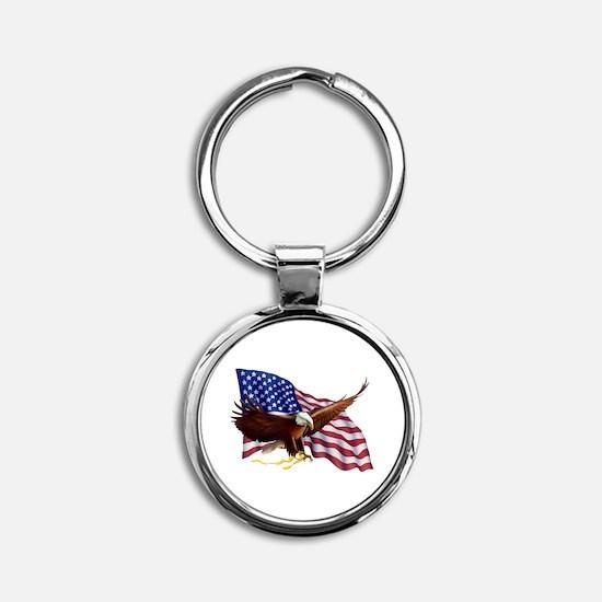 American Patriotism Keychains