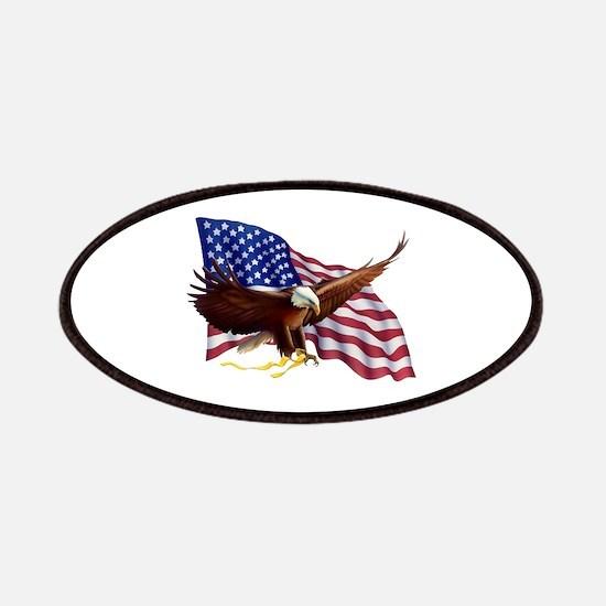 American Patriotism Patches