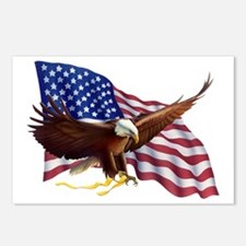 American Patriotism Postcards (Package of 8)