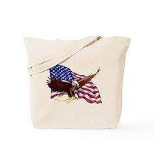 American Patriotism Tote Bag