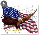 American flag Puzzles