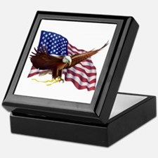 American Patriotism Keepsake Box