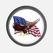 American Patriotism Wall Clock