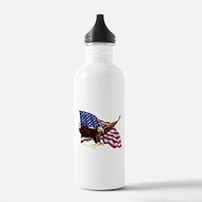 American Patriotism Water Bottle