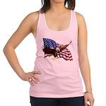 American Patriotism Racerback Tank Top