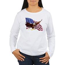 American Patriotism Long Sleeve T-Shirt