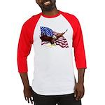 American Patriotism Baseball Jersey