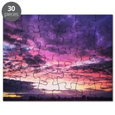 Beautiful New Zealand – Sunset Colours Puzzle