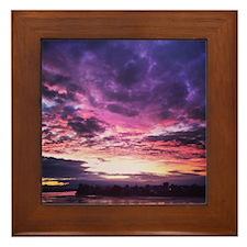 Beautiful New Zealand – Sunset Colours Framed Tile