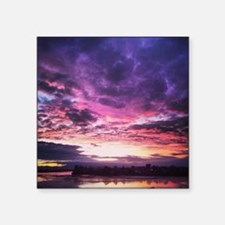 "Beautiful New Zealand – Sun Square Sticker 3"" x 3"""