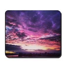 Beautiful New Zealand – Sunset Colours Mousepad